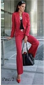 одежда красного цвета