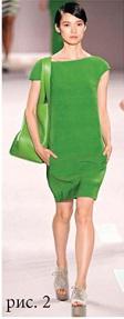зеленый цвет одежда